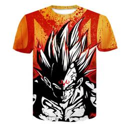 06d34b4a31d6 2019 New Dragon Ball Z T Shirts Men Super Saiyan Ultra Instinct Kids Son  Goku Vegeta Printed Cartoon T-shirt Top Tees Plus Size