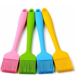 Oil Resistant Rubber Australia - Silicone oil brush barbecue brush, kitchen barbecue heat resistant brush