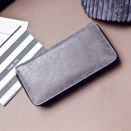 Fashion Wallet Ladies NZ - Women Wallets Ladies Clutch Handbags Identification Card Holders Cell Women's Purse Fashion Ladies Zipper Wallet Large Capacity