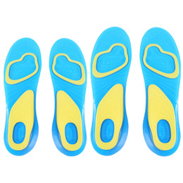 Massaging Silicone Gel Insoles Arch Support Australia   New Featured