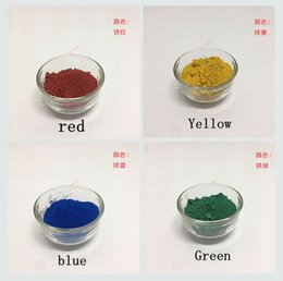 yellow lipsticks Australia - Inorganic Iron Oxide Cosmetics Pigment Cosmetics Grade Pigment For DIY Makeup, Lipstick, Eye, Face, Nail Polish