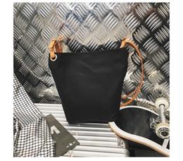 $enCountryForm.capitalKeyWord NZ - brand Designer fashion canvas shoulder tote Drawstring Bags women PU handbags purse wholesale