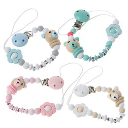 Cartoon Car Wooden Baby Clips Dummy Holder Cute Pacifier Clips Handmade Accessories Dependable 5pcs Engraved Wood Baby Pacifier Clips