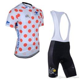 Tour france bike online shopping - Tour De France Team Cycling Short Sleeves Jersey Bib Shorts Sets Quick Dry Ropa Ciclismo Summer Mtb Bike Cycling Clothing D1410