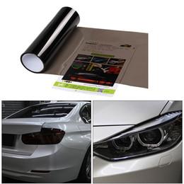 $enCountryForm.capitalKeyWord NZ - Car Headlight Color-Changing Film Car Styling Headlight Taillight Vinyl Tint Sticker Light Film Wrap 30*152cm 2pcs set