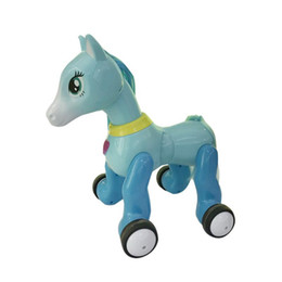 $enCountryForm.capitalKeyWord UK - Children Pony Projection Toy Remote Control Pony With Light Music Touch Sensor Puzzle Remote Control Toy Gift