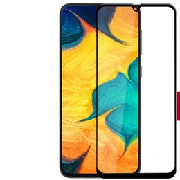 China Tempered film 9H Full Cover Tempered Glass Screen Protector Silk Printed FOR Samsung Galaxy A2 CORE J2 CORE A9 2019 A9 2018 J4 PLUS J6 PLUS suppliers
