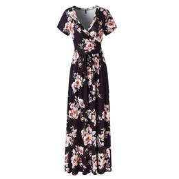 2080a89b187bd Shop Flower Print Elegant Evening Dress UK   Flower Print Elegant ...