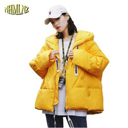 839cc6b9f853a Fashion Winter New Hooded Women Down Jacket 2018 New Loose Females Cotton  Coat Casual Parkas Warm Student Outerwear Korean LY643
