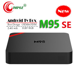 $enCountryForm.capitalKeyWord Australia - 5 PCS 2019 M95 SE Android 7.1 Tv Box Quad Core 1GB 8GB H3 Chip Support Wifi 4K 3D Media Player Smart Tv Box Better TX3 X96 H96 TX6 S905W