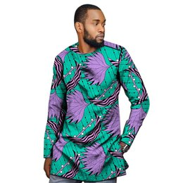 $enCountryForm.capitalKeyWord UK - African clothing men's shirt slim fit ankara o-neck print tops customize for wedding wear male formal Africa tops