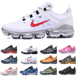 Flat heel mens dress shoes online shopping - New Casual Vap or shoes TN Plus Maxes Woman Shock Running Shoes Run Utility Fashion Mens ladies Sports Sneakers Size US5 F6964