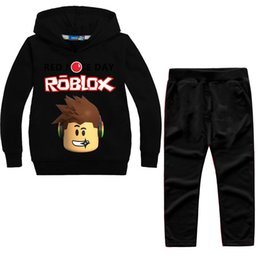 $enCountryForm.capitalKeyWord Australia - Spring Autumn Children Sports Suit Roblox Red Nose Day Long Sleeves Sweater And Pants 2 Pcs Outfits Boy Clothing Set 41 5bbb E1