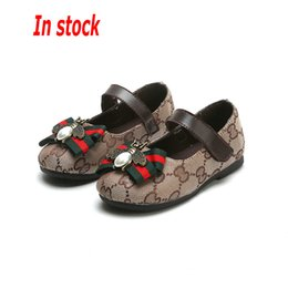 Korean Kids wedding dresses online shopping - In stock Spring Summer New Fashion Designer Children s Shoes Kids Casual Style Shoes Korean Stitching Pattern Shoes For Baby girls Loafer