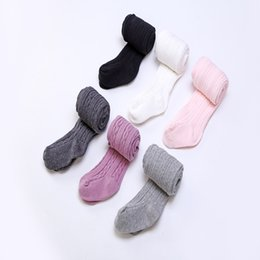 $enCountryForm.capitalKeyWord UK - Baby Girls braids Jacquard Pantyhose Ins hot Babyighs Infants Cotton Tights Kids Cute leggings stocking 6colors