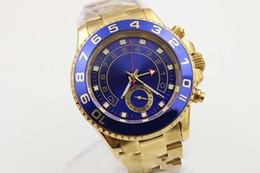 $enCountryForm.capitalKeyWord Australia - Luxury new hot sale Christmas gift automatic master 2 watch movement man stainless steel blue bezel golden case black dial mens wristwatch