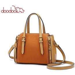 Tote Bags Compartments Canada - Fashion For Women Pu Leather Handbag Female Shoulder Crossbody Luxury Designer Ladies Top-handle 2019 Tote Beach Bag New Design korean Style
