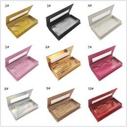 $enCountryForm.capitalKeyWord NZ - Magnetic Lashes Box with eyelash tray 3D Mink Eyelashes Boxes Fake False Eyelashes Packaging Case Empty Eyelash Box Cosmetic Tools