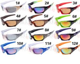 Sunglasses Designers Canada - NEWEST man fashion Sunglasses high quality riding Sunglasses Mirror Lens Brand Designer Mens Sport Sunglasses women Bicycle Glass free ship
