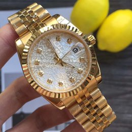 Discount solid gold wristwatch - 2019 Luxury 41mm Wristwatches Stainless Steel Solid Clasp Automatic movement 2813 Mechanical Watch Men Datejust Desinger
