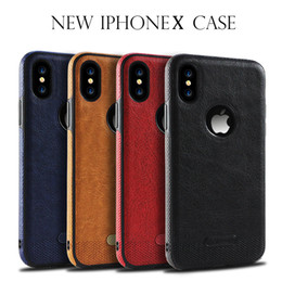 $enCountryForm.capitalKeyWord NZ - Business Leather Pattern Stitching Armor Silicone Shockproof Cover Case For iPhone XS Max XR X 8 7 6 Plus 5 Samsung Galaxy Note 9 S10 S9 S8