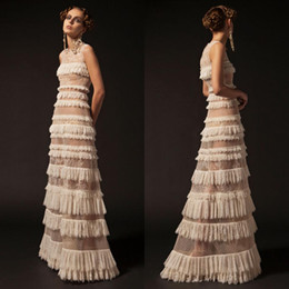 $enCountryForm.capitalKeyWord Australia - Krikor Jabotian 2019 Lace Ivory Prom Dresses Jewel Neck A Line Sexy Formal Party Dress Cake Tutu Ruffles Pageant Evening Gowns