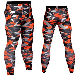 Tights Bodybuilding Legging Australia - 2019 Compression Pants Men Jogging Pants Fitness gyms Running Tights Men Camo Sport Legging Bodybuilding Training Trousers