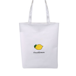 $enCountryForm.capitalKeyWord NZ - Hot Strawberry Printing Shopping Bag Simple Leisure Beach Bag Student Shoulder Daily Use Handbag Large Capacity Tote