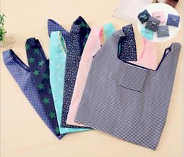 $enCountryForm.capitalKeyWord Australia - printing Foldable Shopping Bags Nylon Reusable Grocery Storage Bag 210D Eco Friendly Shopping Bags Tote Bags