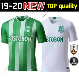 978eeaaf609 2019 Atletico Nacional Medellin Soccer Jerseys 19 20 Medellin Home green  Away white Football Shirts Colombian Primera A Soccer Shirt On Sale