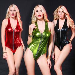 $enCountryForm.capitalKeyWord Australia - Light Vest Colour Zipper Tighten Club Locomotive Wear Jumpsuit bodysuit Sexy Lingerie Porno Bodystocking Latex Catsuit Leather