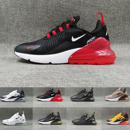 9ee9042d Nike air max 270 270s 27c airmax 2019 nuevo Zapatillas de correr Hombres  Mujeres Entrenador SER VERDADERO Hot Punch Triple Negro Blanco Oreo Teal  Foto Azul ...