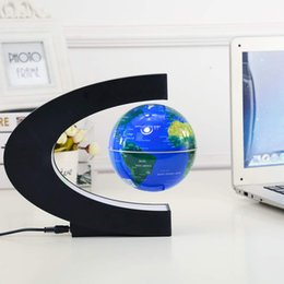 $enCountryForm.capitalKeyWord Australia - C type 3 inch magnetic suspension globe Creative gift crafts new strange home decoration