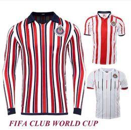 d6cd43adbff Chivas de Guadalajara 2018 Japan club World Cup Soccer Jerseys Long Sleeve  Kit New Arrived Thailand MEXICO Club 18 19 Women football shirt