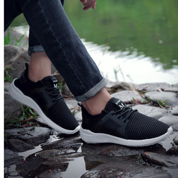 657a9ce596d Famous Brand Sneakers High Quality Men Casual Shoes Lace-Up Mesh Footwear  New Summer Lightweight Shoes Man Cheaper Flats
