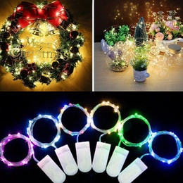 Craft string lights online shopping - LED String lights M Silver Wire Fairy light cake topper Christmas Wedding Party DIY craft Decoration waterproof