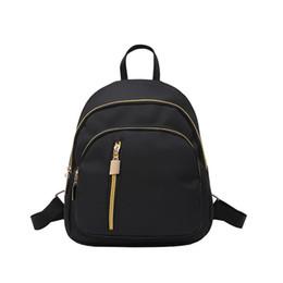 Shoulder Straps Backpack NZ - Women Backpack Adjustable Strap Nylon Multifunctional Fashion School Travel Bag Small Handbag Girls Shoulder Casual Storage