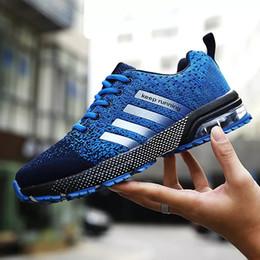 $enCountryForm.capitalKeyWord Australia - 2019 Hot Men Shoes Casual Sneakers Men Tenis Masculino Adulto Mens Trainers Air Cushion Sneakers Leisure Blue Shoes