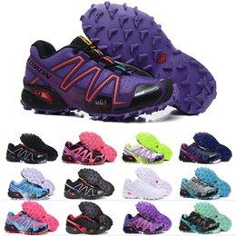Cheap Cross body online shopping - Salomon Speed Cross CS Mens Women Running Shoes SpeedCross Outdoor Walking Sneaker Black White Red Men Trainer Sports Cheap Size