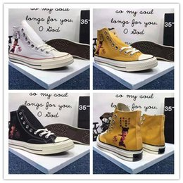 classic football sale Australia - 2019 Cheap Sale Brand New Black White Yellow All-Star High Top Sports Classic Canvas Shoes Sneakers Men's Women's Casual Shoes