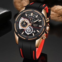 $enCountryForm.capitalKeyWord Australia - 2019new Lige Silicone Strap Men Watches Fashion Top Brand Luxury Business Luminous Quartz Watch Men Casual Waterproof Date Clock MX190724