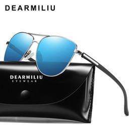 $enCountryForm.capitalKeyWord Australia - DEARMILIU Design Unisex Polarized Sunglasses Women Mirror Driving Retro Frame Polit Sun Glasses Male UV400 Gafas De Sol For Men