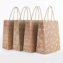 $enCountryForm.capitalKeyWord Australia - 12pcs lot Kraft Paper Bags Stand Up Dot Bags Child Party Birthday Paper Kraft Seal Gift Packing Treat Candy Bag Supplies