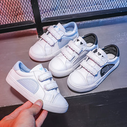 Shoes Flats Boy NZ - Toddler Boys Sport Shoes 2019 Autumn Winter Children Shoes for Girls Kids Sneakers Anti-Slippery Boys Casual Shoes Flat Sneaker
