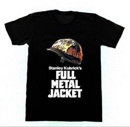 Vietnam White NZ - Full Metal Jacket T-shirt Cult Film Stanley Kubrick M16 Vietnam War Men'S Funny Harajuku T Shirt Top Tee