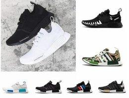 fb31208e2d9ce 2018 NMD R1 Oreo Runner Japan Nbhd Primeknit OG Triple Black White Camo  Running Shoes Men Women Nmds Runners Xr1 Sports Trainers Size 5-11