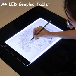 $enCountryForm.capitalKeyWord Australia - A4 LED Graphic Tablet Digital USB Drawing Pad Light Box Tracing Copy Board Electronic Art Writing Painting Table Pad For Sketch Children