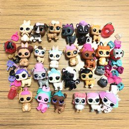 lol toys accessories UK - Lot 10PCS LOL Doll Pet Unicorn Kitty queen Owl Pet with Accessories Lol Doll Xmas Gift for Child