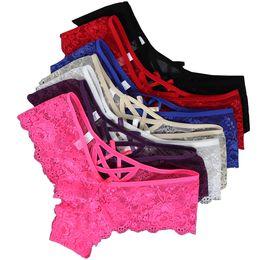 $enCountryForm.capitalKeyWord UK - Gift Full Beautiful Women's Lingerie Thongs G-string Underwear Briefs Ladies T-back Sexy Lace Panties C19041801
