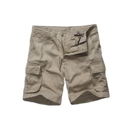 $enCountryForm.capitalKeyWord NZ - Mens Army Style Work Trade Durable Cargo Shorts Casual Multi-pockets Shorts -black, Navy, Army Green And Khaki Y19071601